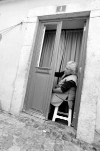 Lisbonne femme portrait Portugal ville