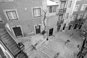 Lisbonne architecture rue Portugal ville