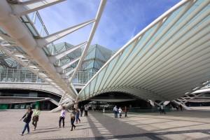 Lisbonne gare Portugal ville architecture moderne
