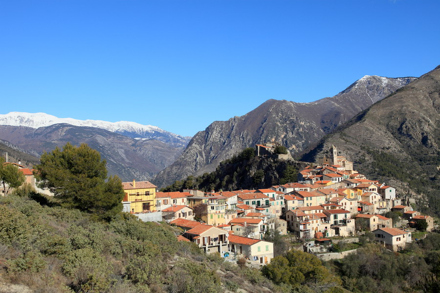 village Roya Alpes-MAritimes 06 montagne