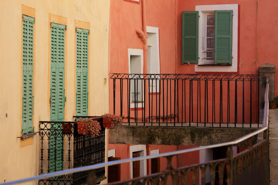 Saorge village Roya façade architecture alpes-maritimes 06