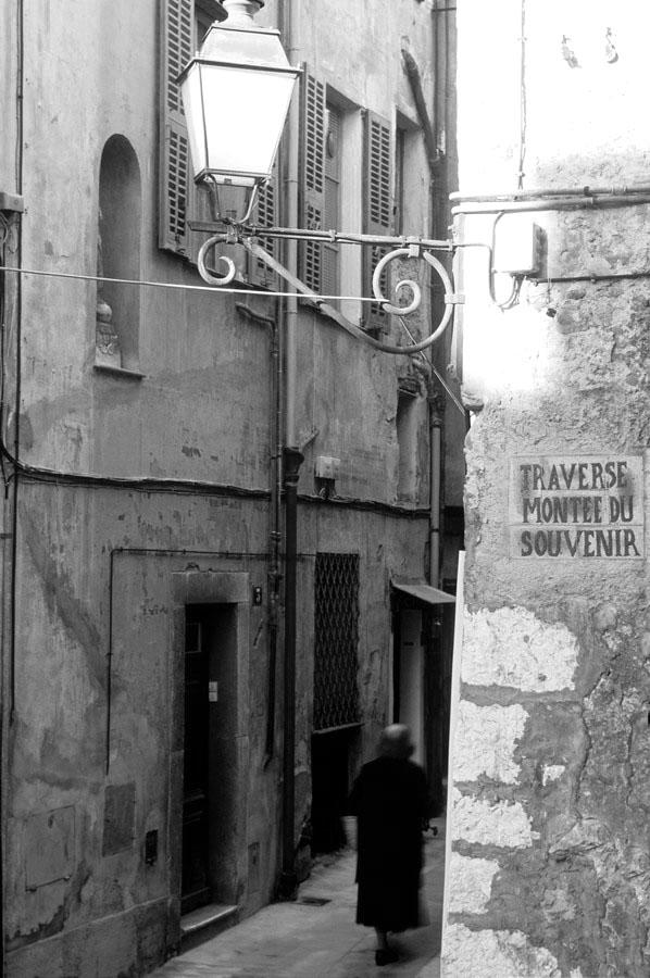 ruelle maison ancien Menton vieux
