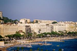photographe Cannes Croisette vue générale mer