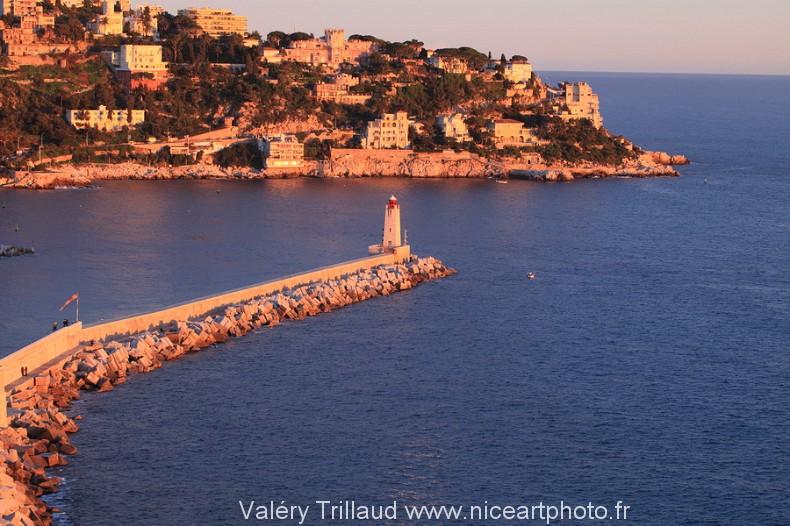 Nice Mont boron cap mer port photo