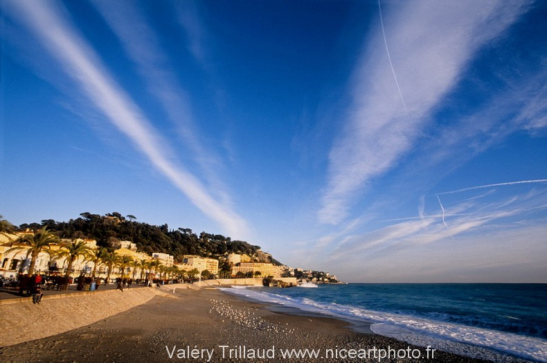 plage Nice photo mer photographe ciel horizon
