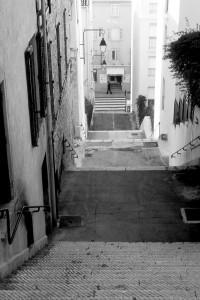 Ruelle Cannes Le Suquet ville architecture