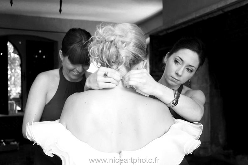 photographe mariage preparatifs Valbonne