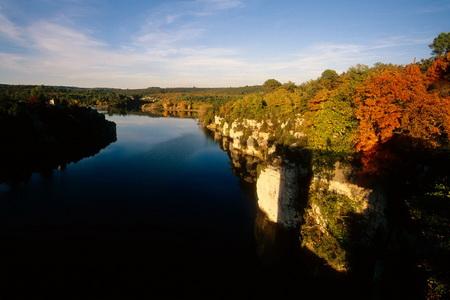 Le Verdon en automne Provence