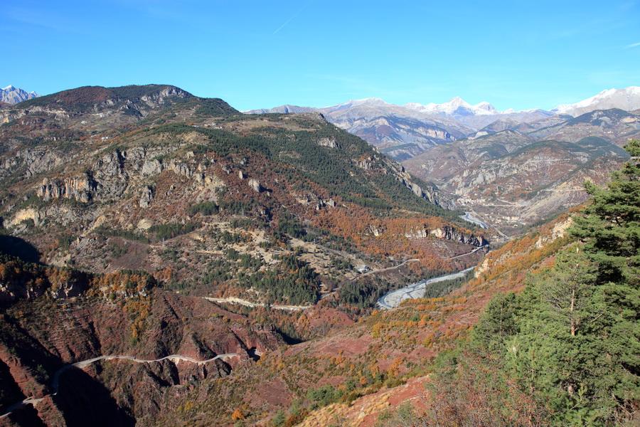 La Vallée du Var et les Gorges de Daluis