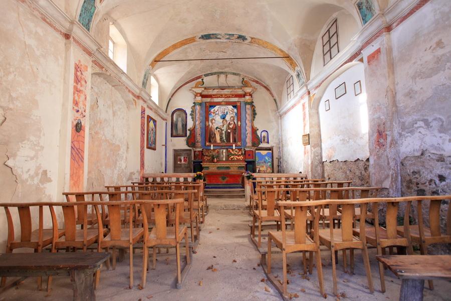 La Chapelle du hameau de Amen