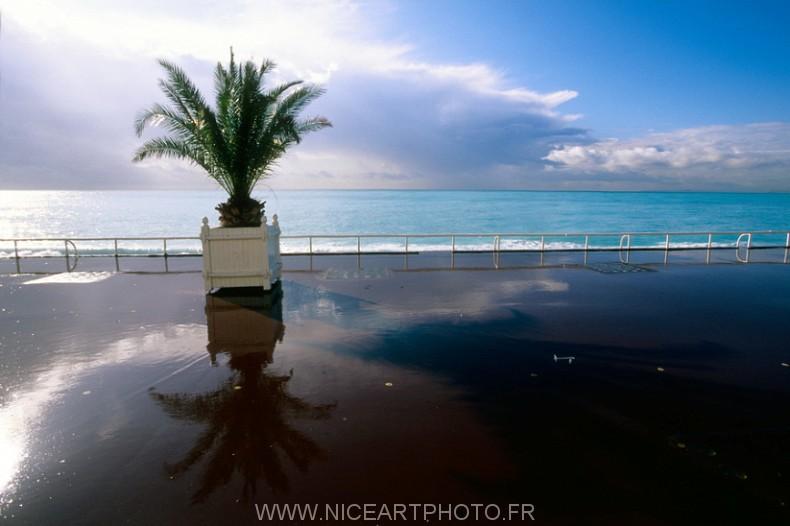 photo promenade des Anglais Nice ville