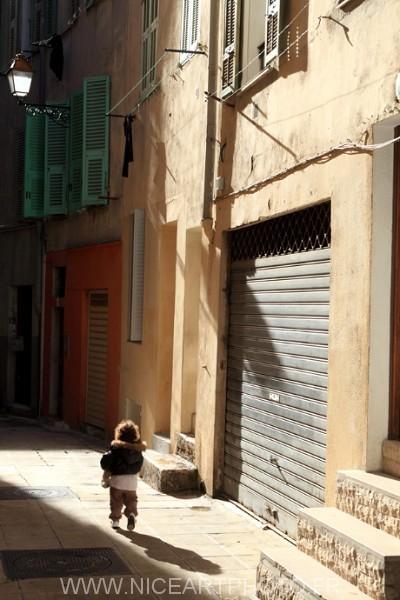 vieille ville Nice photo personnage Niçois
