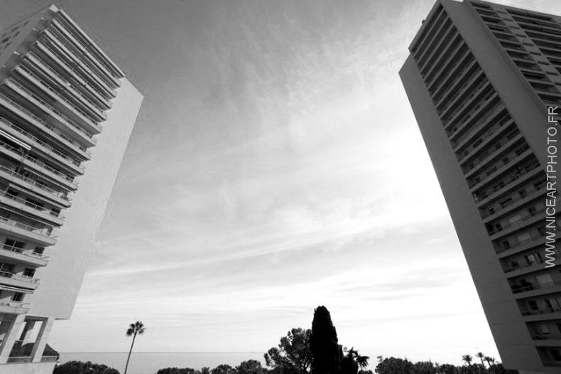 Monaco ville immeuble batiment