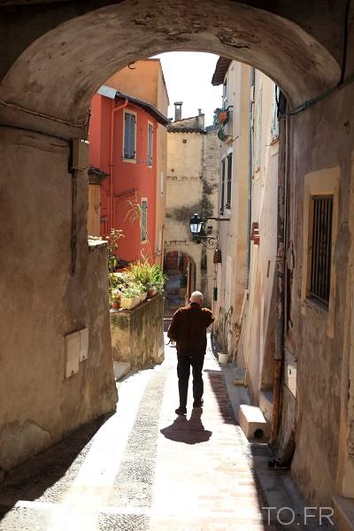 Vieux Menton rue vieille ville