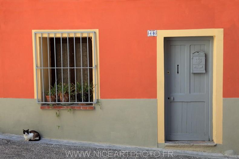 maison Menton couleur façade architecture
