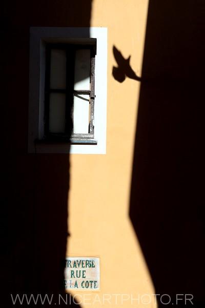 Menton ombre habitat vieille ville