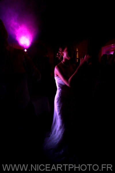 photographe mariage Nice soirée