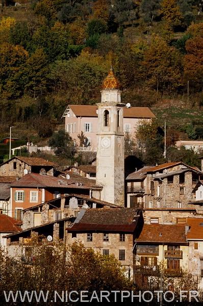 Roquebillière vieux village Vallée de la Vésubie