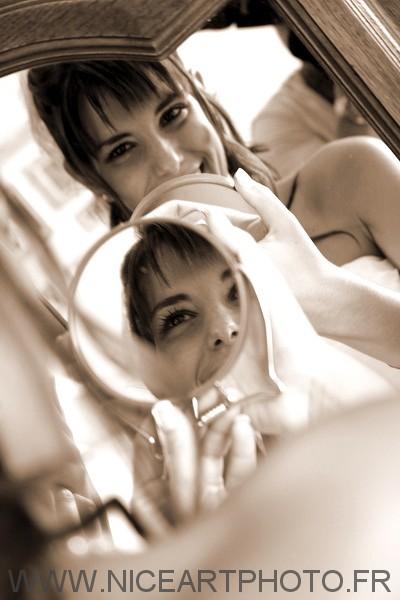 Photographe original mariage