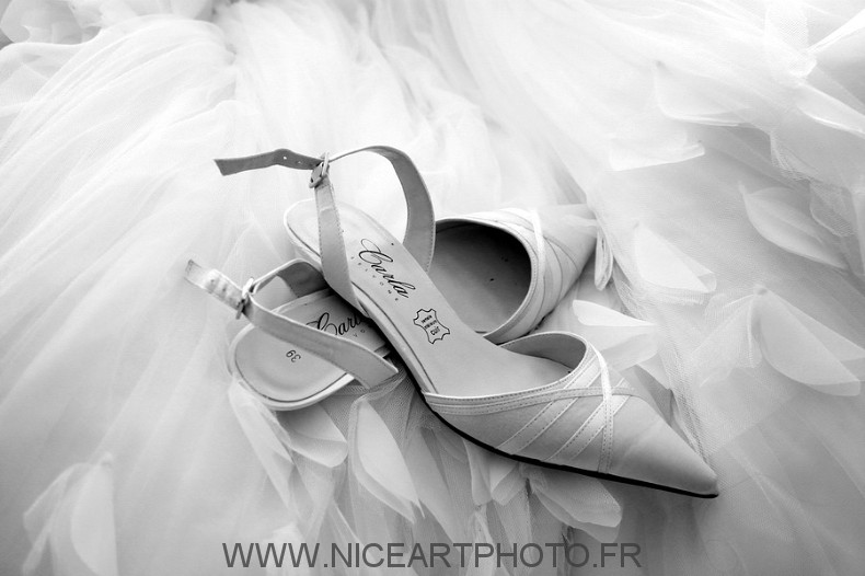 Chaussure mariage mariée femme