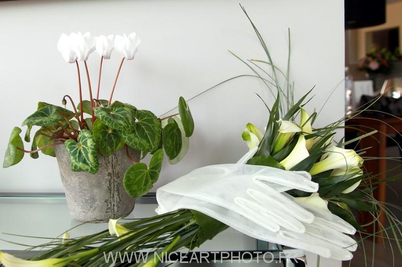 photo Fleurs mariage