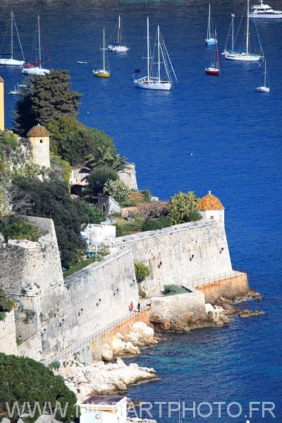 Citadelle fort Villefranche sur mer