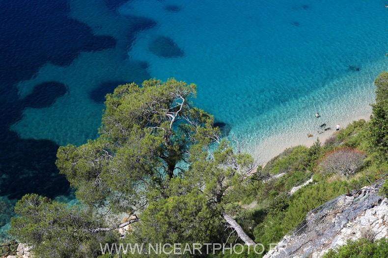plage Alpes-Maritimes Villefranche sur mer