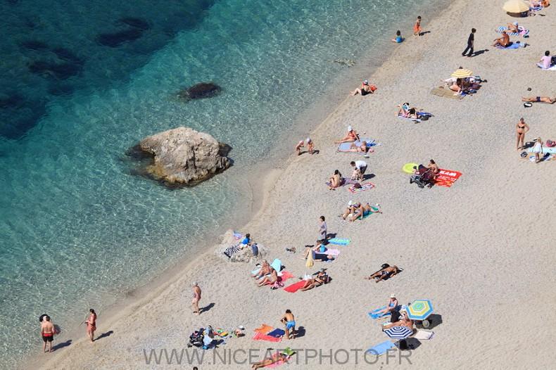 plage Marinières Villefranche sur mer