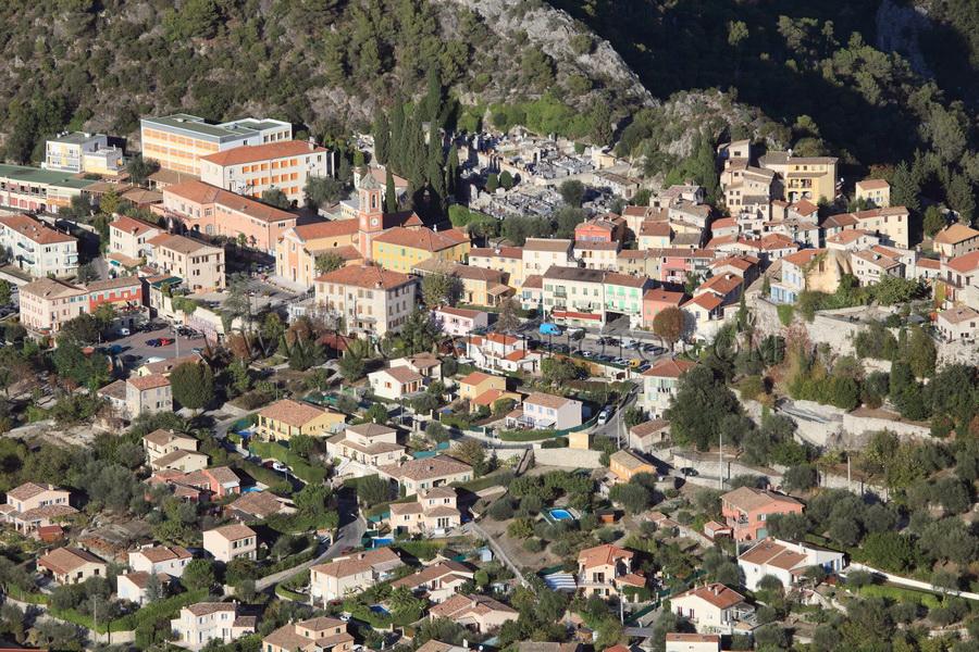 village Tourrette Levens Alpes-Maritimes