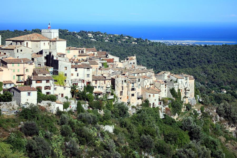 village Tourrettes sur Loup Alpes-Maritimes