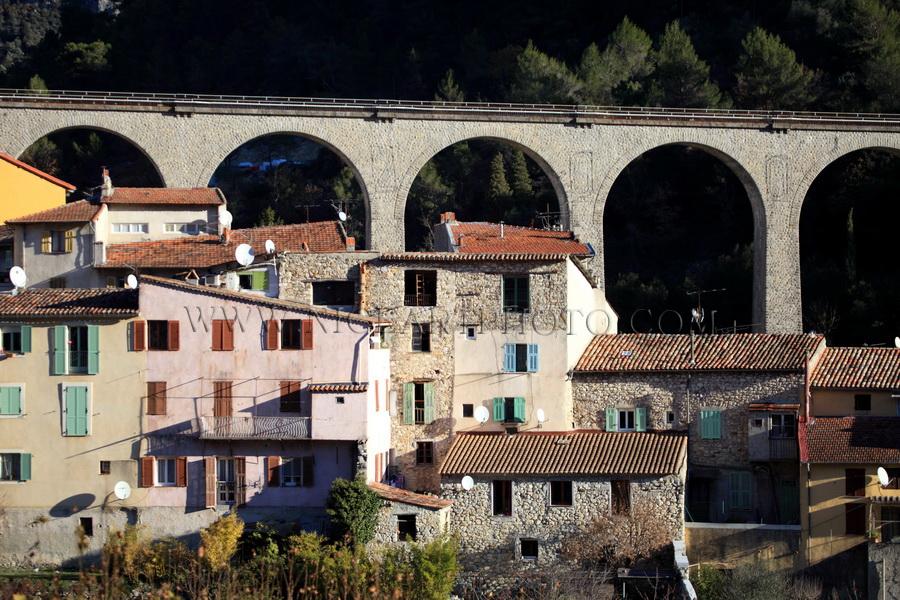 Village L'Escarene Alpes-Maritimes
