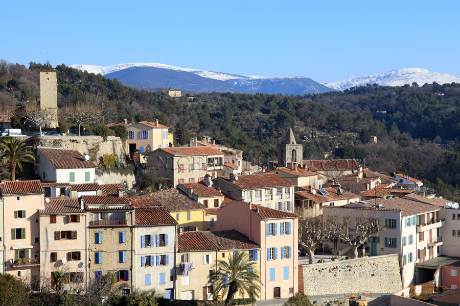 Tourrettes village Var