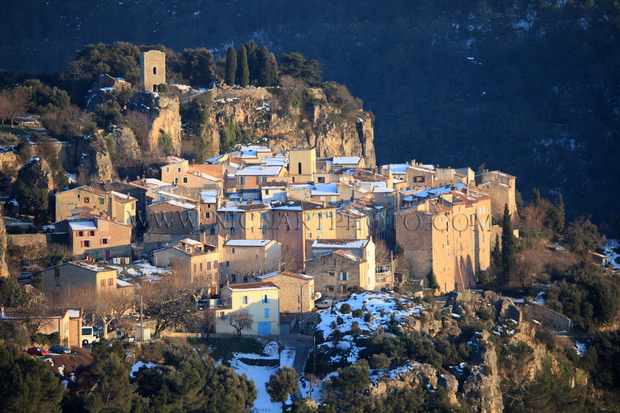 Chateaudouble village Var
