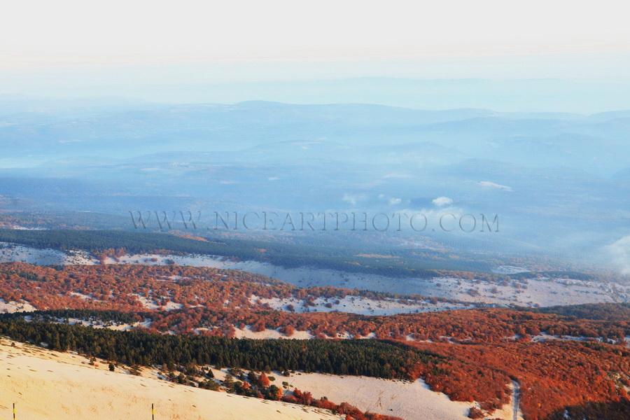 paysage Vaucluse Mont Ventoux