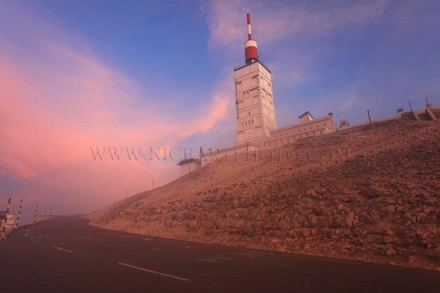 Tour sommet du Mont Ventoux