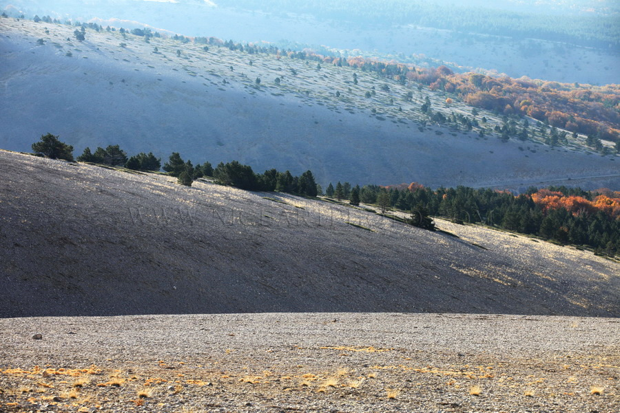 le Mont Ventoux paysage Provençal