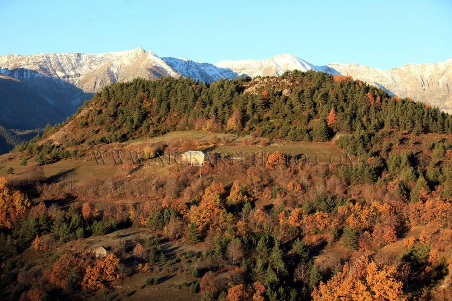 vallee du haut var automne
