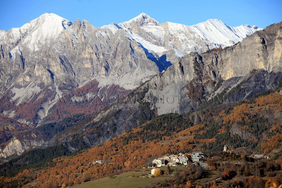 vallee du haut var Chateauneuf d'Entraunes