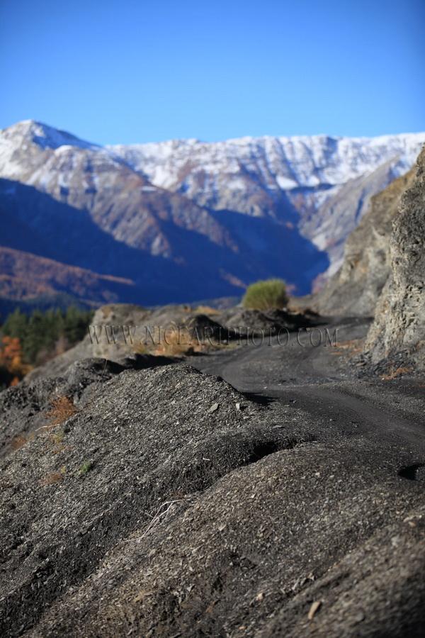 vallee du var paysage montagne Alpes-Maritimes
