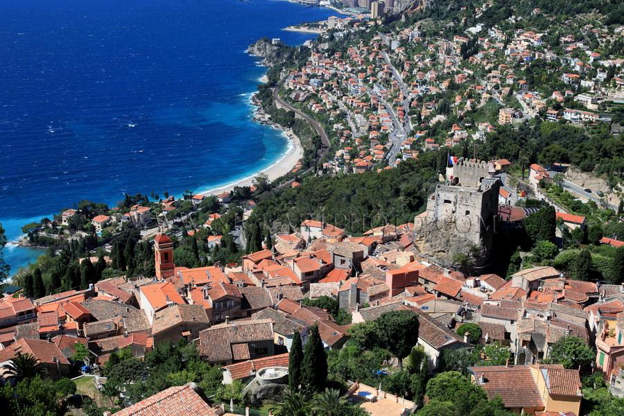 Roquebrune village Alpes-Maritimes
