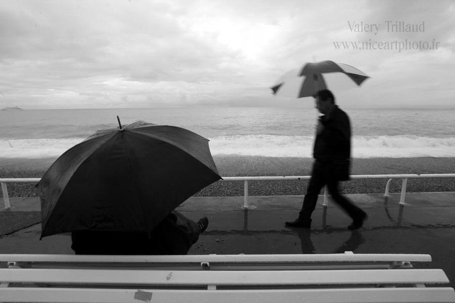 Tempete Nice Promenade des Anglais