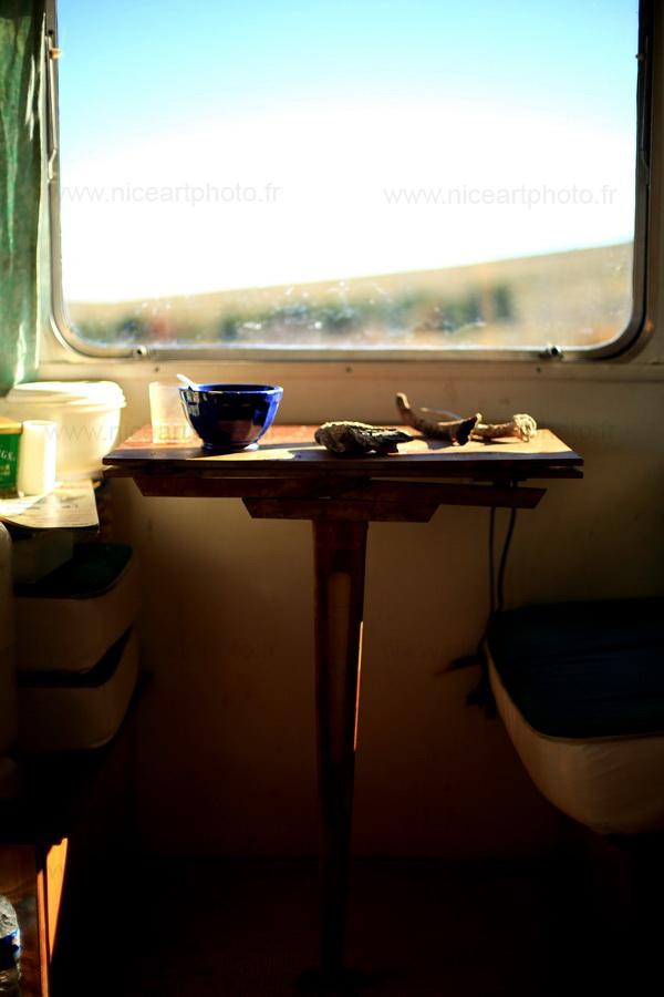 Caravane abandonnée