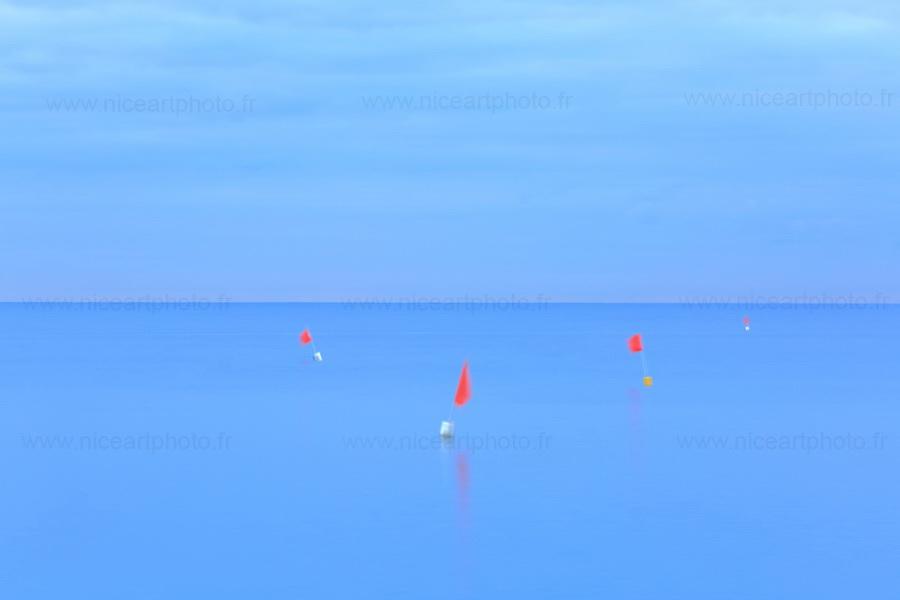 Les bouées photographie d'art couleur