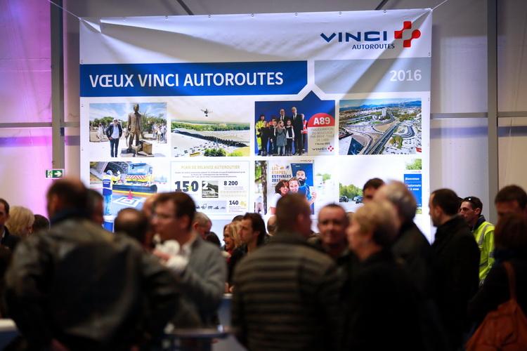 photographe reportage Vinci autoroutes voeux 2016