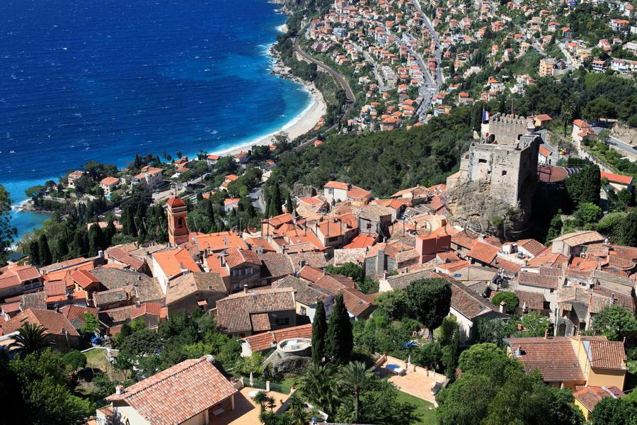 village de Roquebrune, Alpes-MAritimes, Côte d'Azur