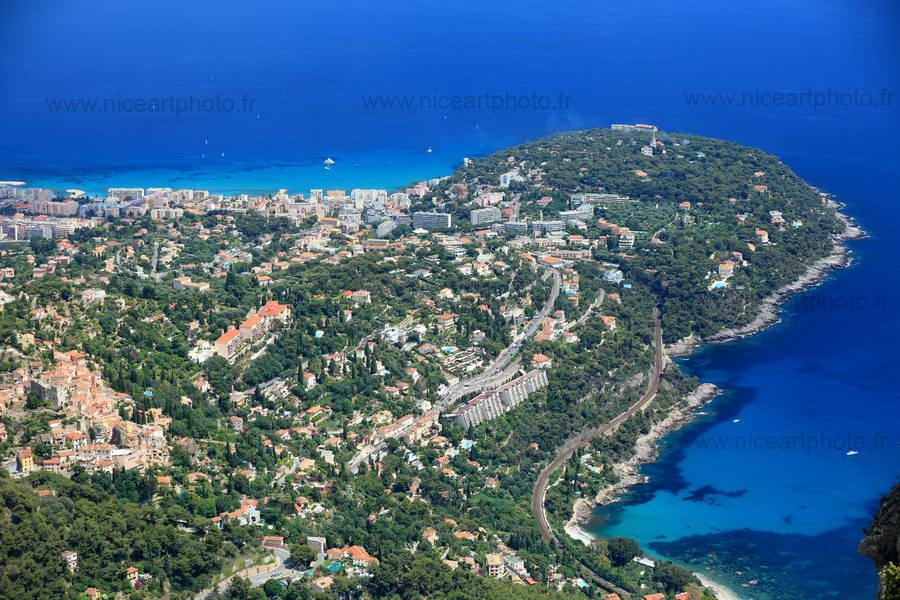 Roquebrune Cap-Martin et village de Roquebrune