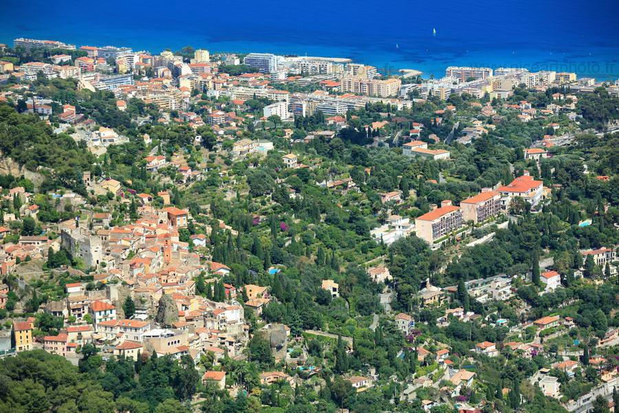 Cap Martin et village de Roquebrune