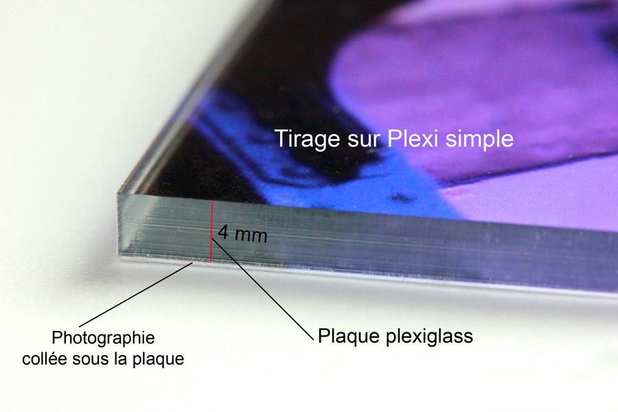Photographie d'art sur plexi ou Diassec