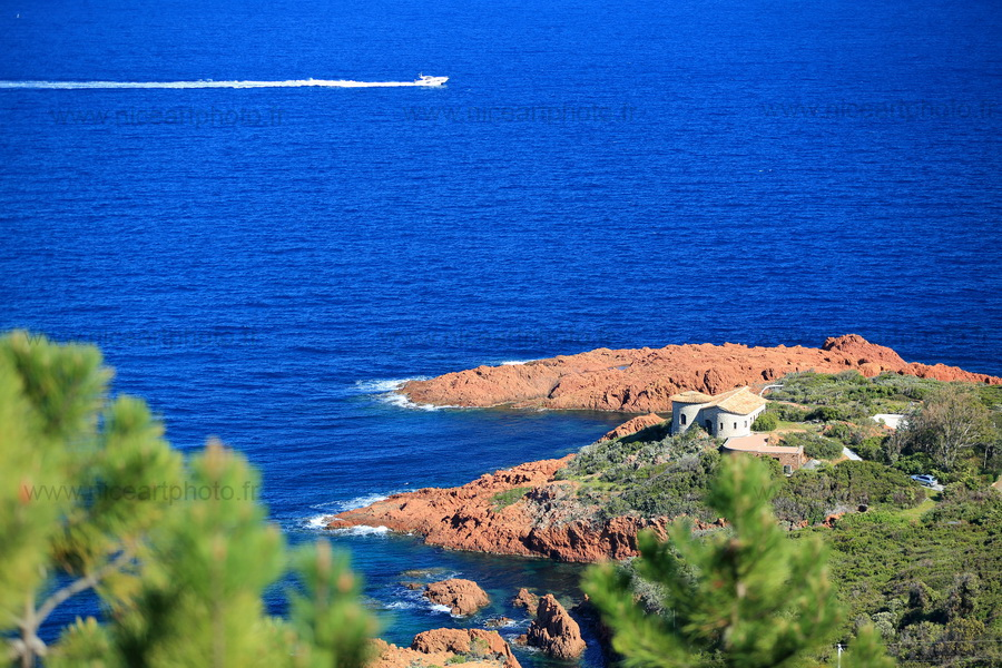 Villa de la pointe du Cap Roux Esterel