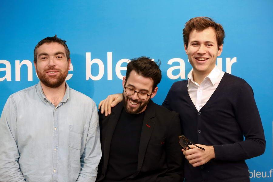 L'équipe de la matinale de France Bleu Azur